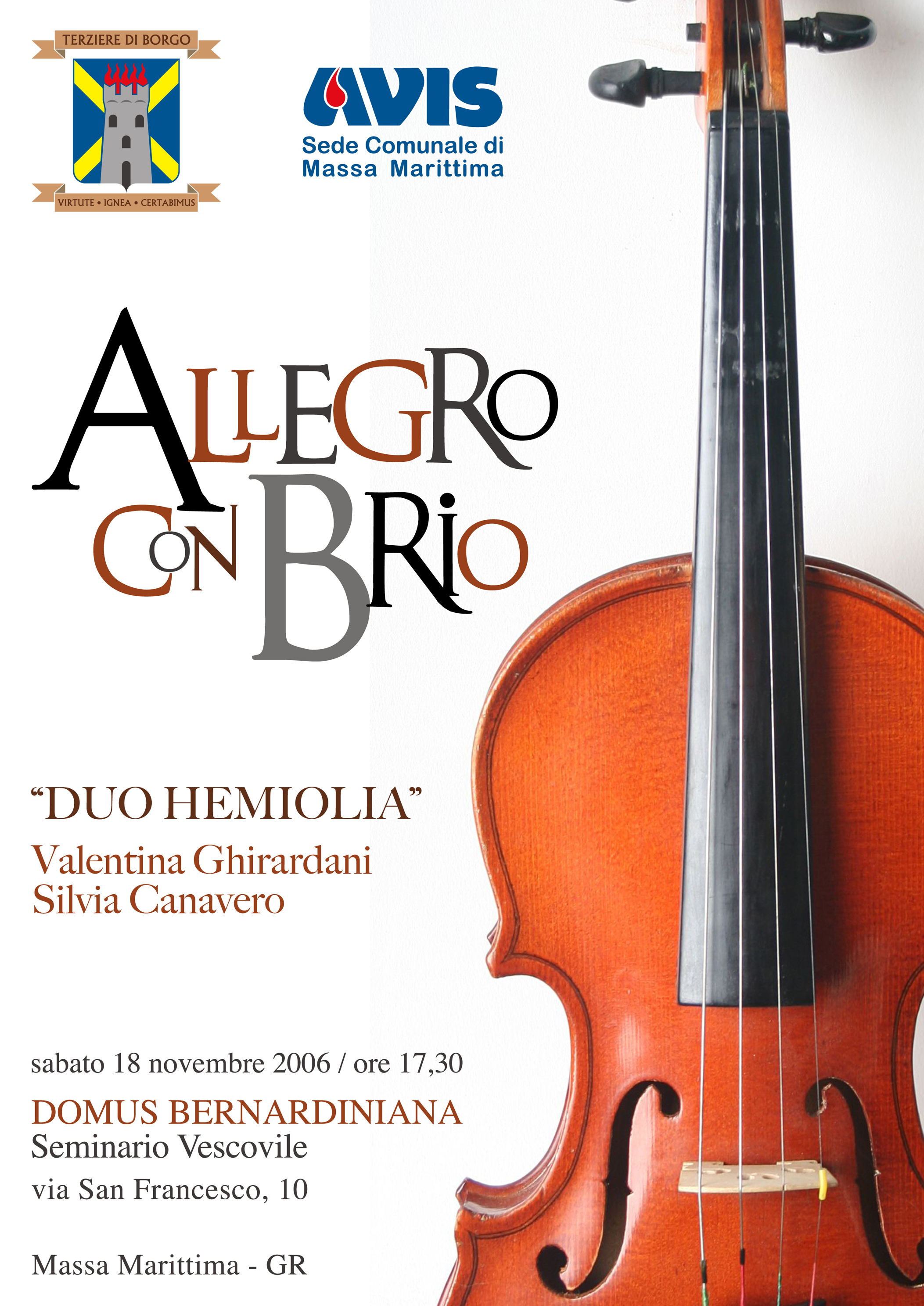 locandina concerto borgo